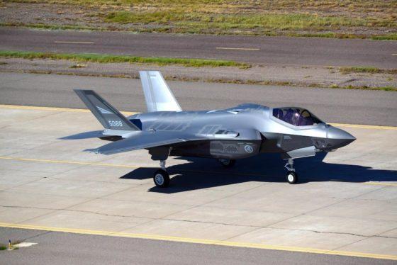 Die USAF wird eine F-35 Lightning II auf der Paris Air Show ausstellen. © Timothy Boyer/USAF