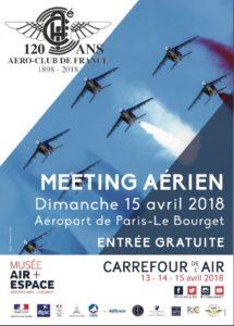 120 Jahre Aéro-Club de France @ Flughafen Le Bourget