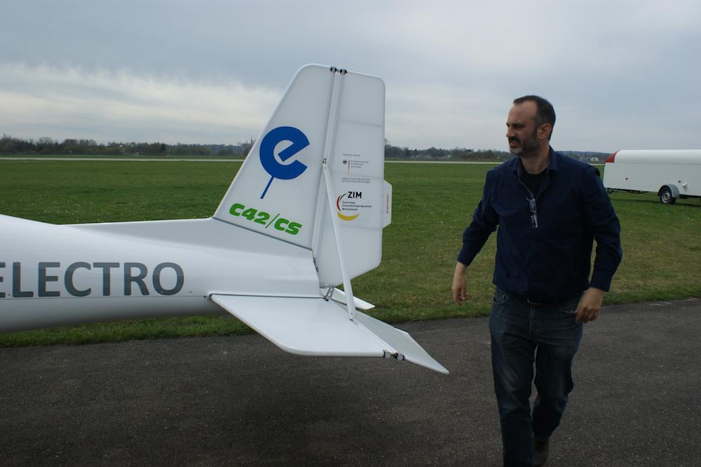C42cs Mit Elektroantrieb Hat Erstflug Absolviert Aerobuzzde