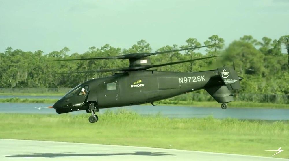 Sikorskys s 97 raider fliegt schneller als 200 knoten for Geschwindigkeit in knoten