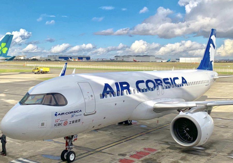 Resultado de imagen para Air Corsica A320neo png