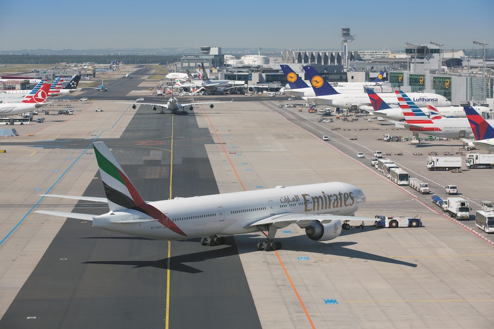 Ankunft Flughafen Frankfurt Am Main Heute