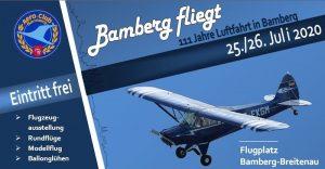 Bamberg fliegt - 111 Jahre Luftfahrt @ Flugplatz Bamberg-Breitenau