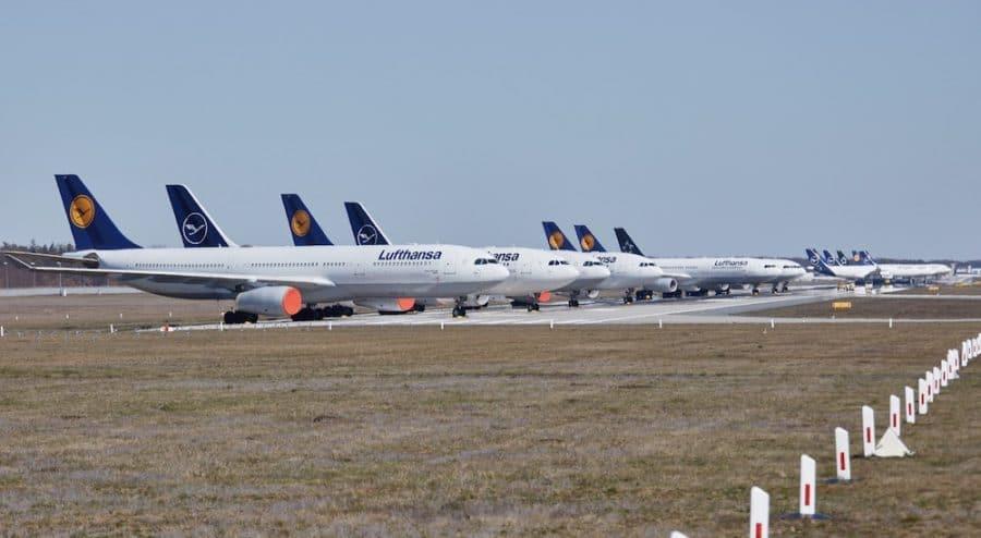 Frankfurt Airport Nutzt Landebahn Nordwest Als Parkplatz Aerobuzz De