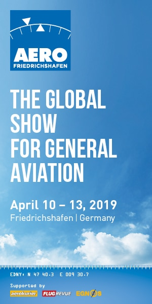 AERO EXPO - THE GLOBAL SHOW OF GENERAL AVIATION 2019